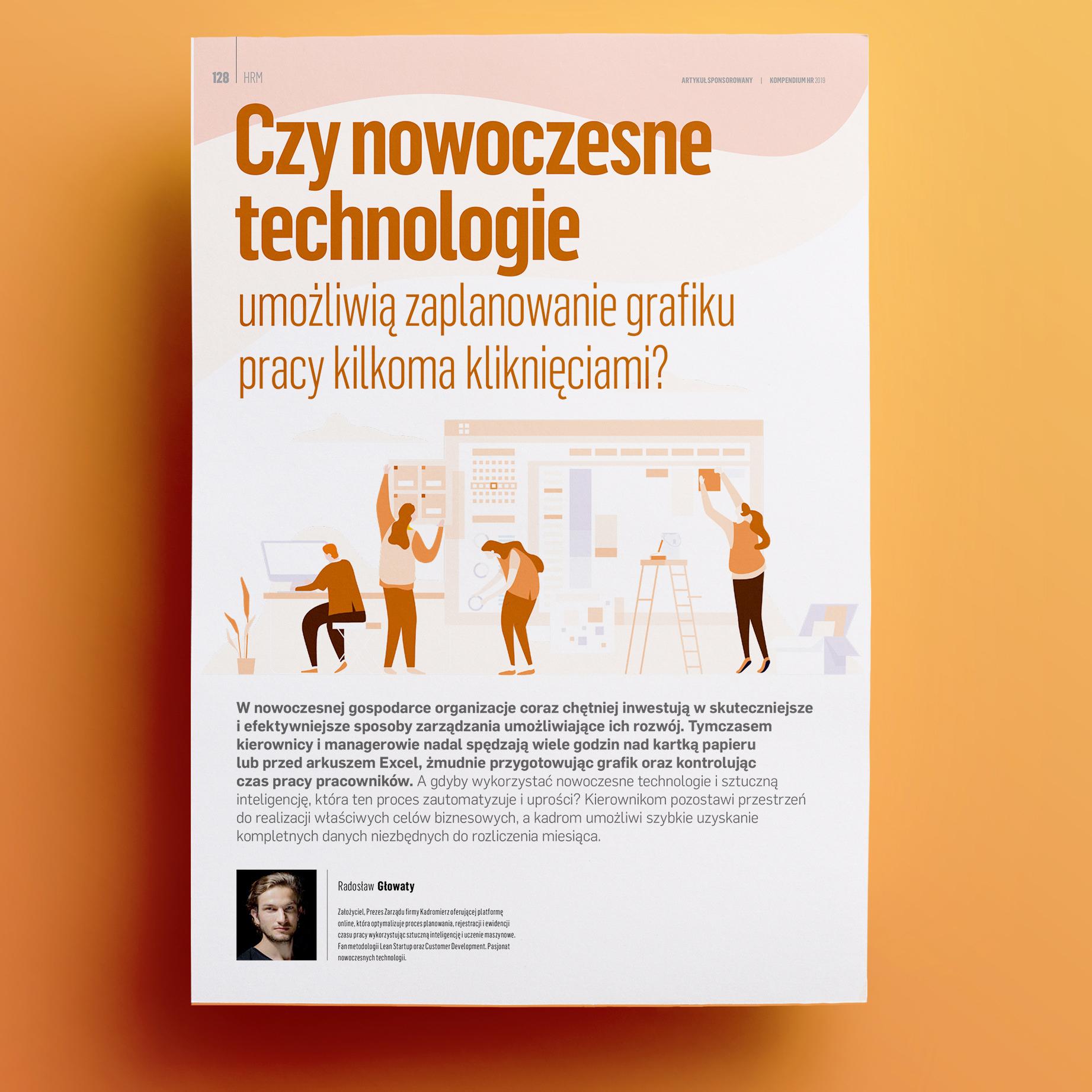 technoloie w planowaniu pracy
